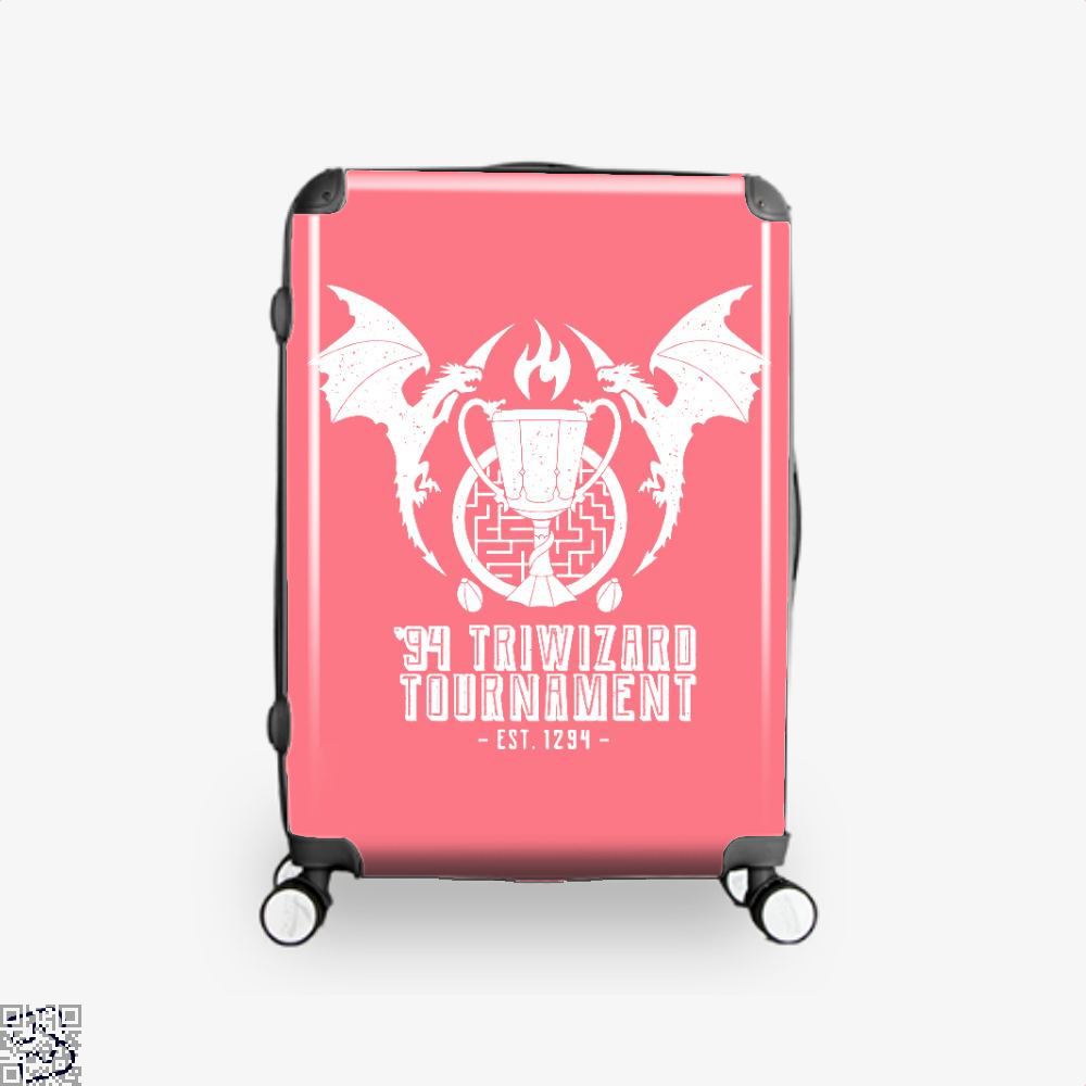 94 Triwizard Tournament Harry Potter Suitcase - Pink / 16 - Productgenjpg