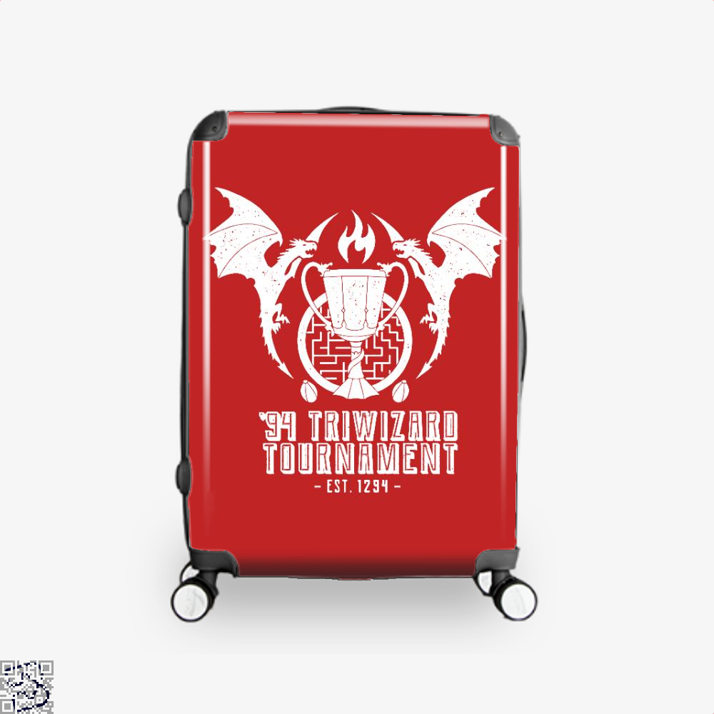 94 Triwizard Tournament Harry Potter Suitcase - Red / 16 - Productgenjpg
