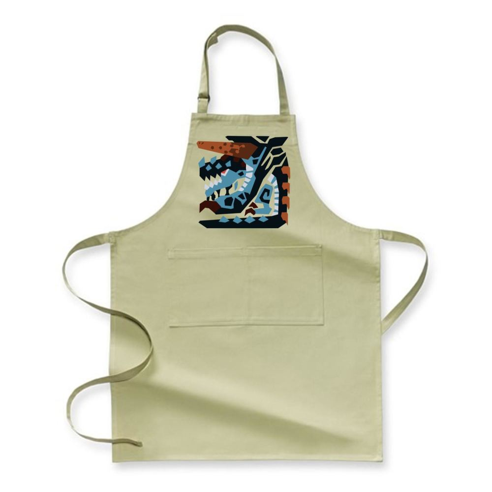 Achievement Icon Monster Hunter Apron - Green / Polyster - Productgenjpg