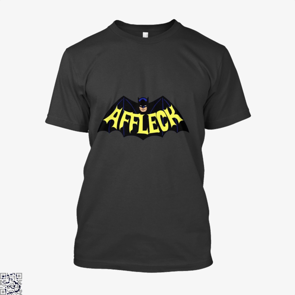 Affleck Batman Shirt - Men / Black / X-Small - Productgenjpg