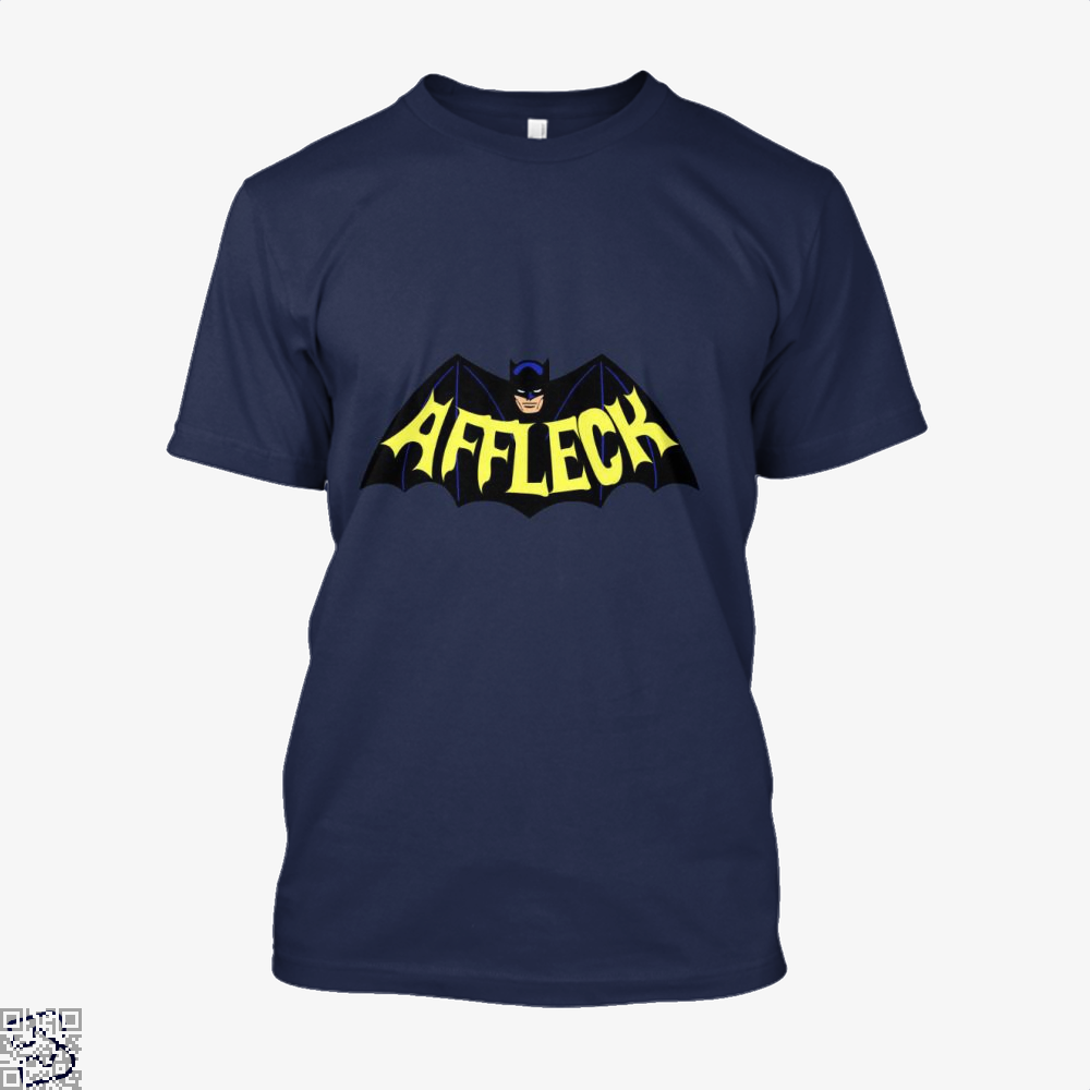Affleck Batman Shirt - Men / Blue / X-Small - Productgenjpg