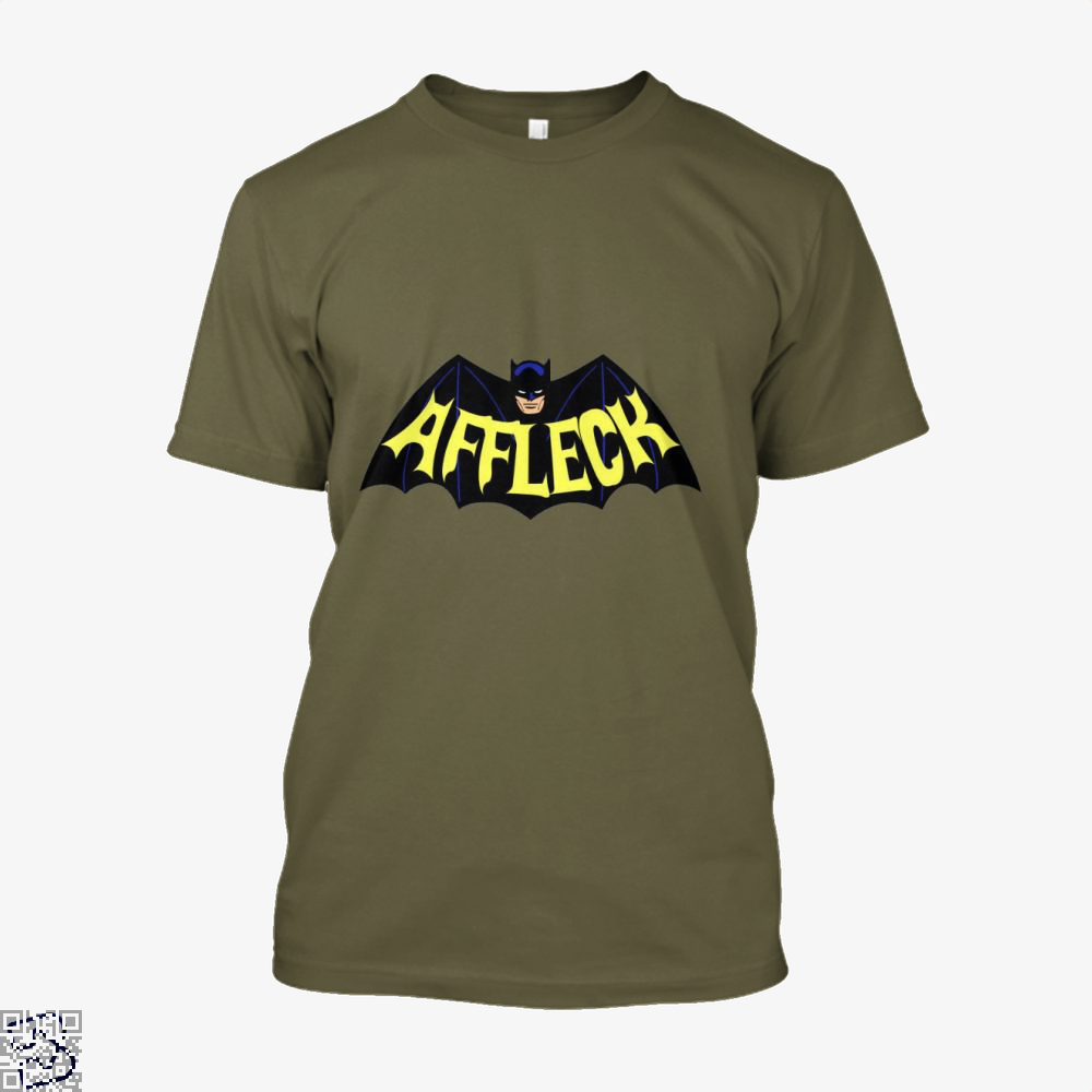 Affleck Batman Shirt - Men / Brown / X-Small - Productgenjpg