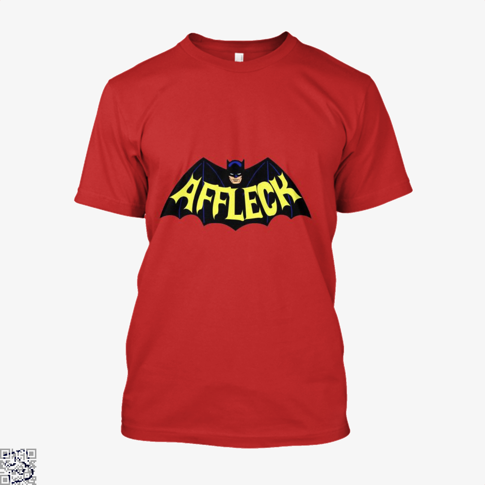 Affleck Batman Shirt - Men / Red / X-Small - Productgenjpg