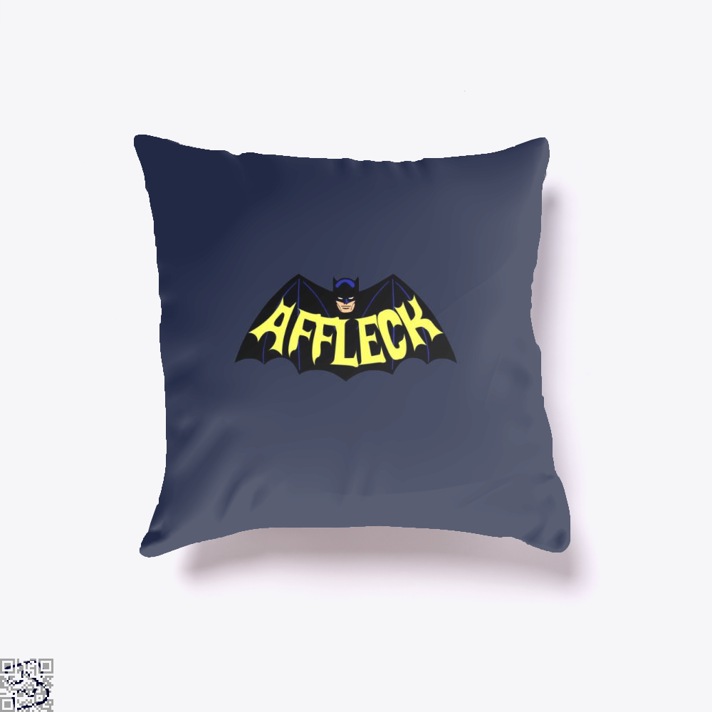 Affleck Batman Throw Pillow Cover - Blue / 16 X - Productgenjpg