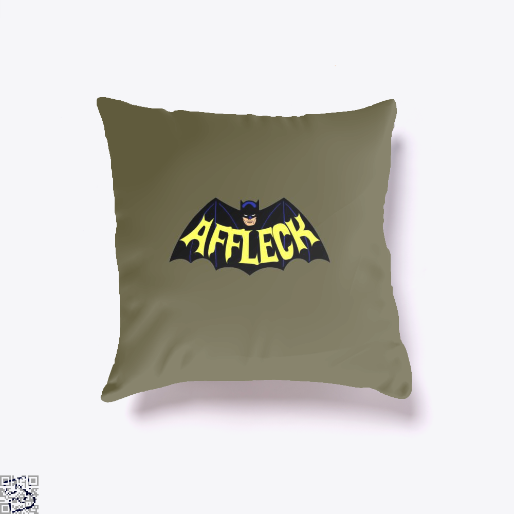 Affleck Batman Throw Pillow Cover - Brown / 16 X - Productgenjpg