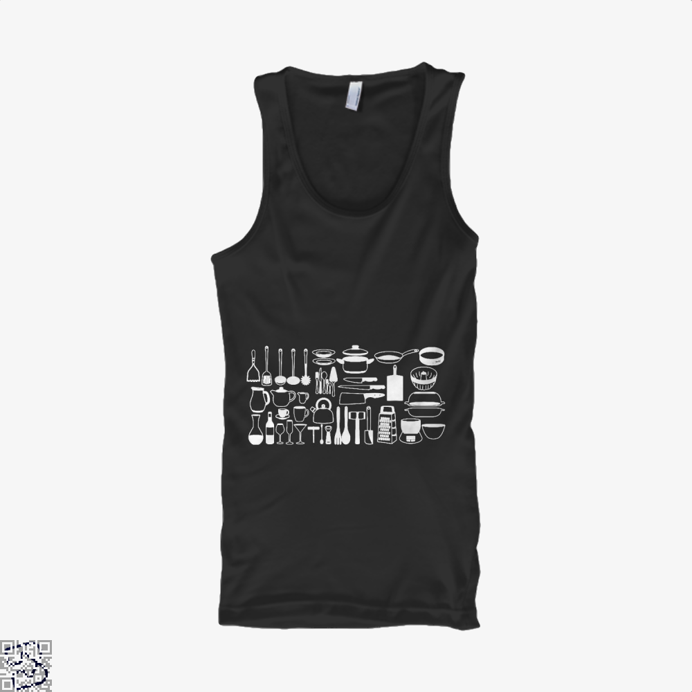All My Cookware Chefs Tank Top - Men / Black / Small - Productgenapi