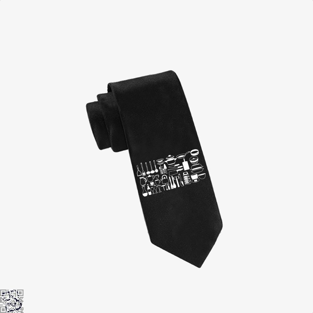 All My Cookware Chefs Tie - Black - Productgenapi
