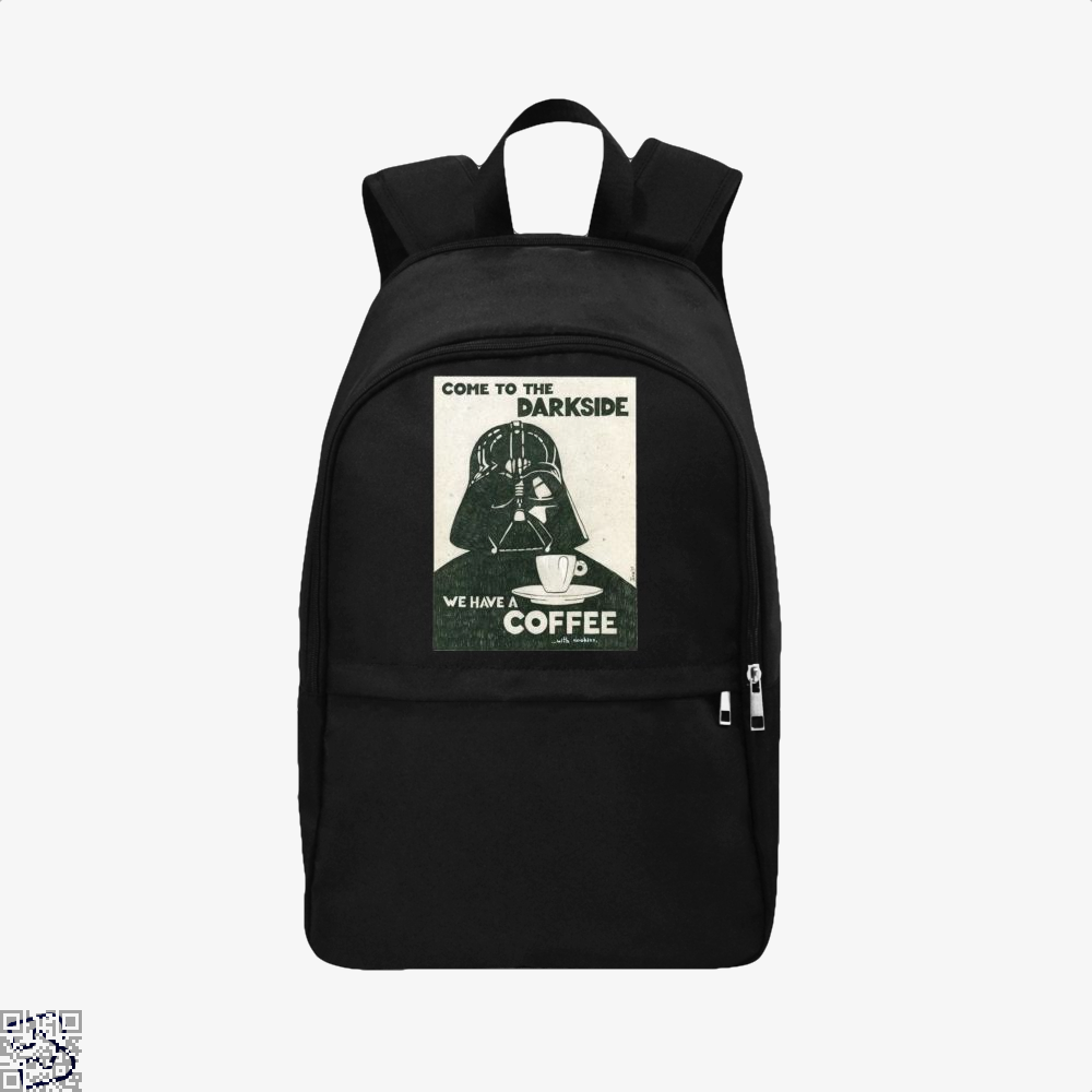 Anakin Skywalker Coffee With Cookies Backpack - Black / Adult - Productgenapi