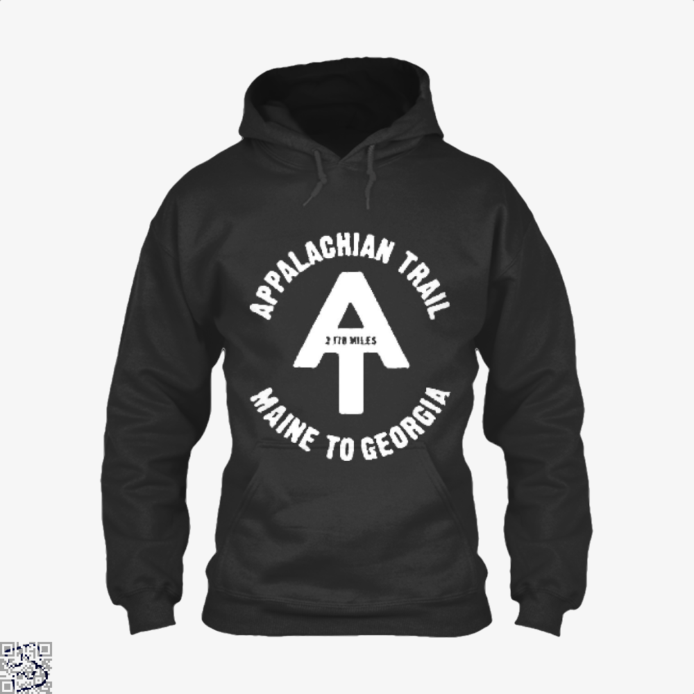 Appalachian Trail Droll Hoodie - Black / X-Small - Productgenjpg