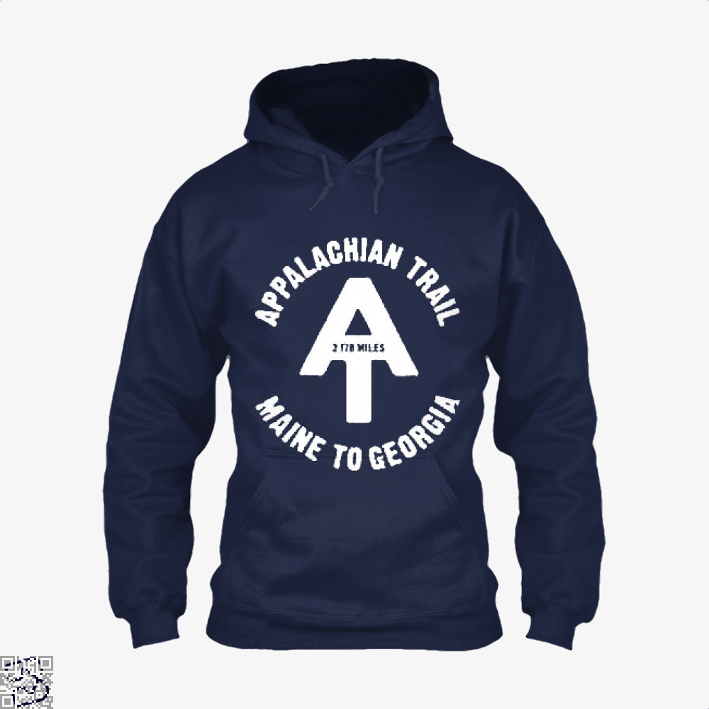 Appalachian Trail Droll Hoodie - Blue / X-Small - Productgenjpg