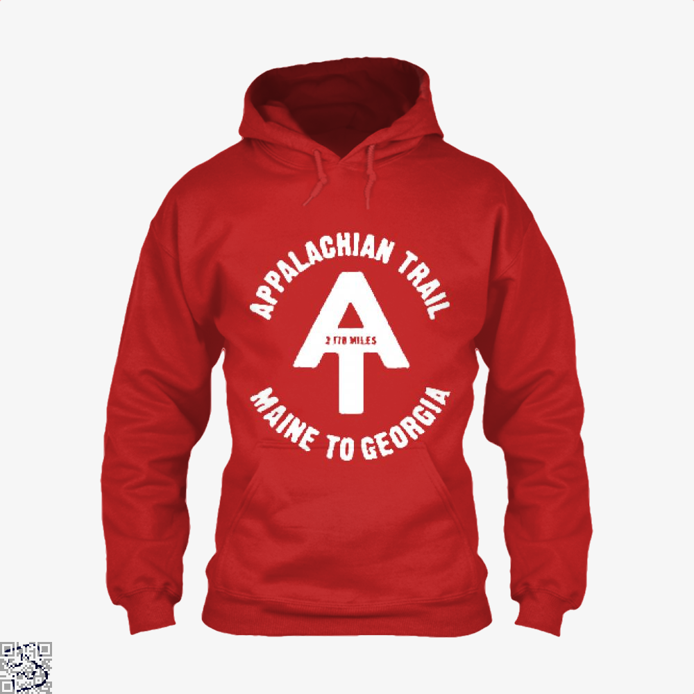 Appalachian Trail Droll Hoodie - Red / X-Small - Productgenjpg