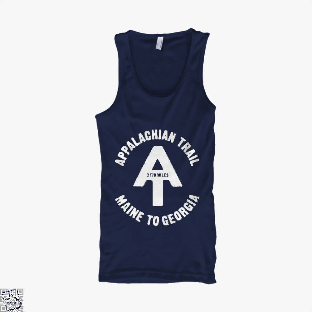 Appalachian Trail Droll Tank Top - Men / Blue / X-Small - Productgenjpg