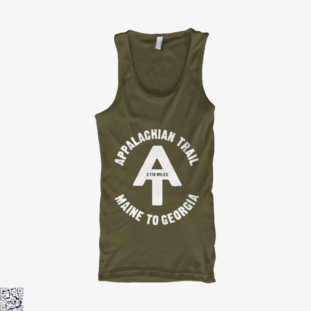 Appalachian Trail Droll Tank Top - Men / Brown / X-Small - Productgenjpg
