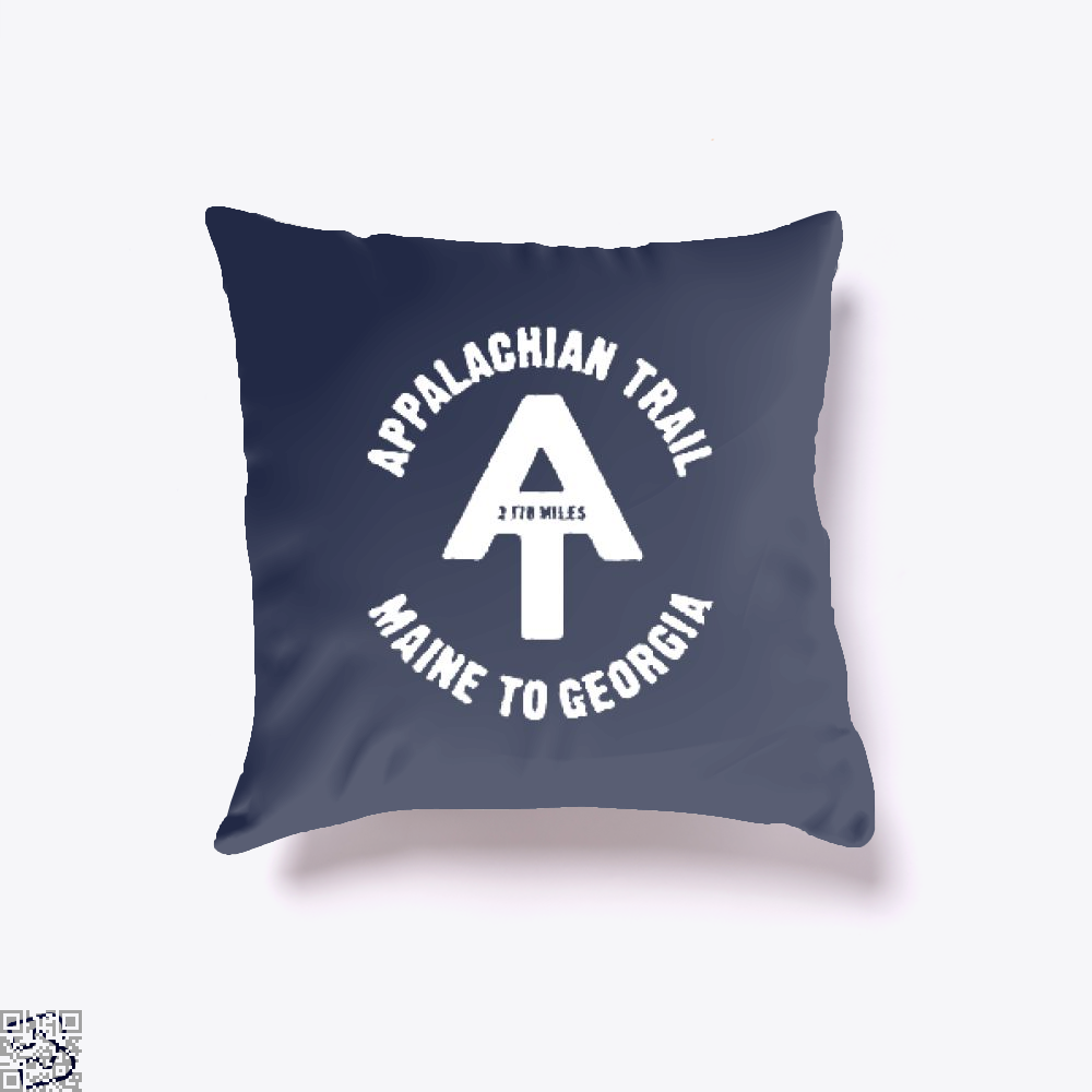 Appalachian Trail Droll Throw Pillow Cover - Productgenjpg