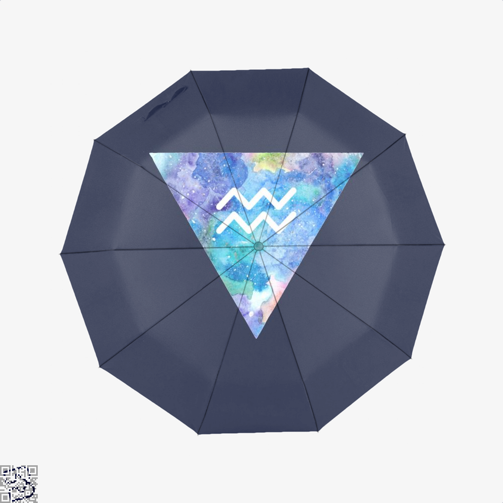 Aquarius Zodiac Astrology Umbrella - Productgenapi