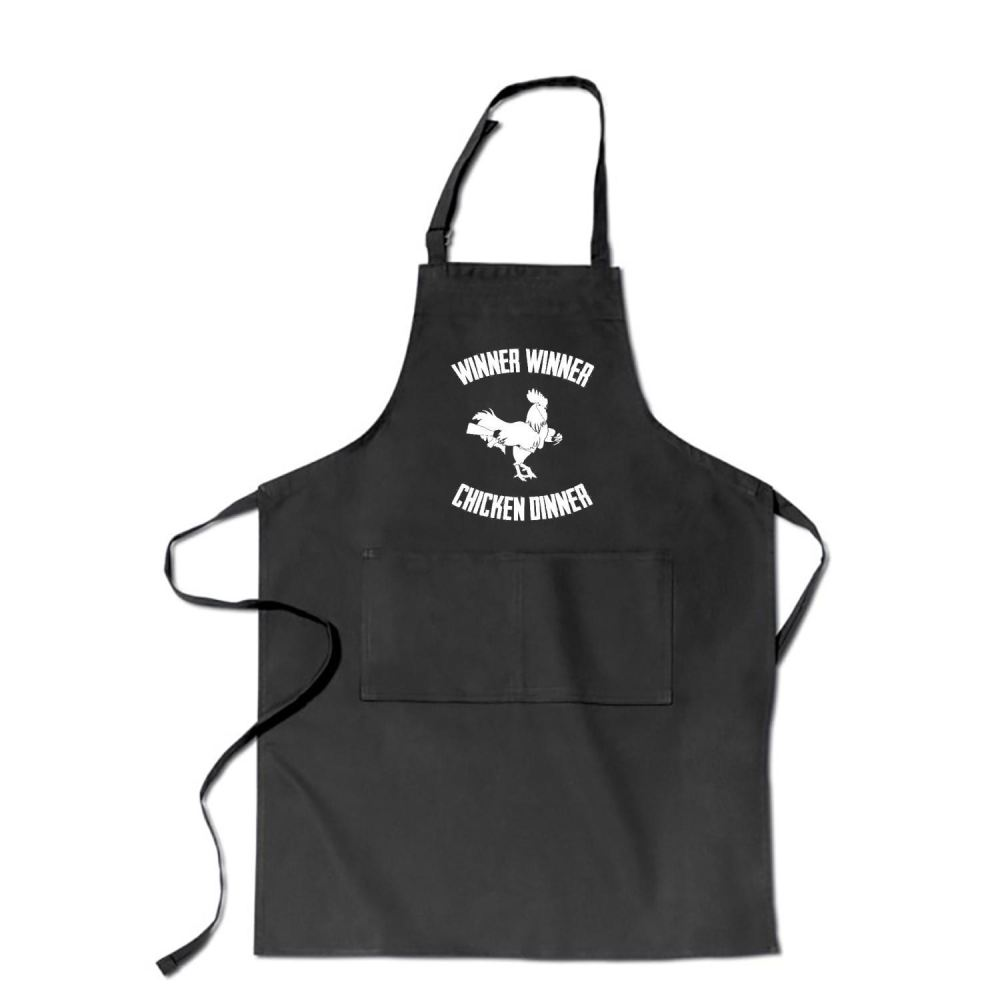Are You A Winner Funny Apron - Black / Polyester - Productgenapi