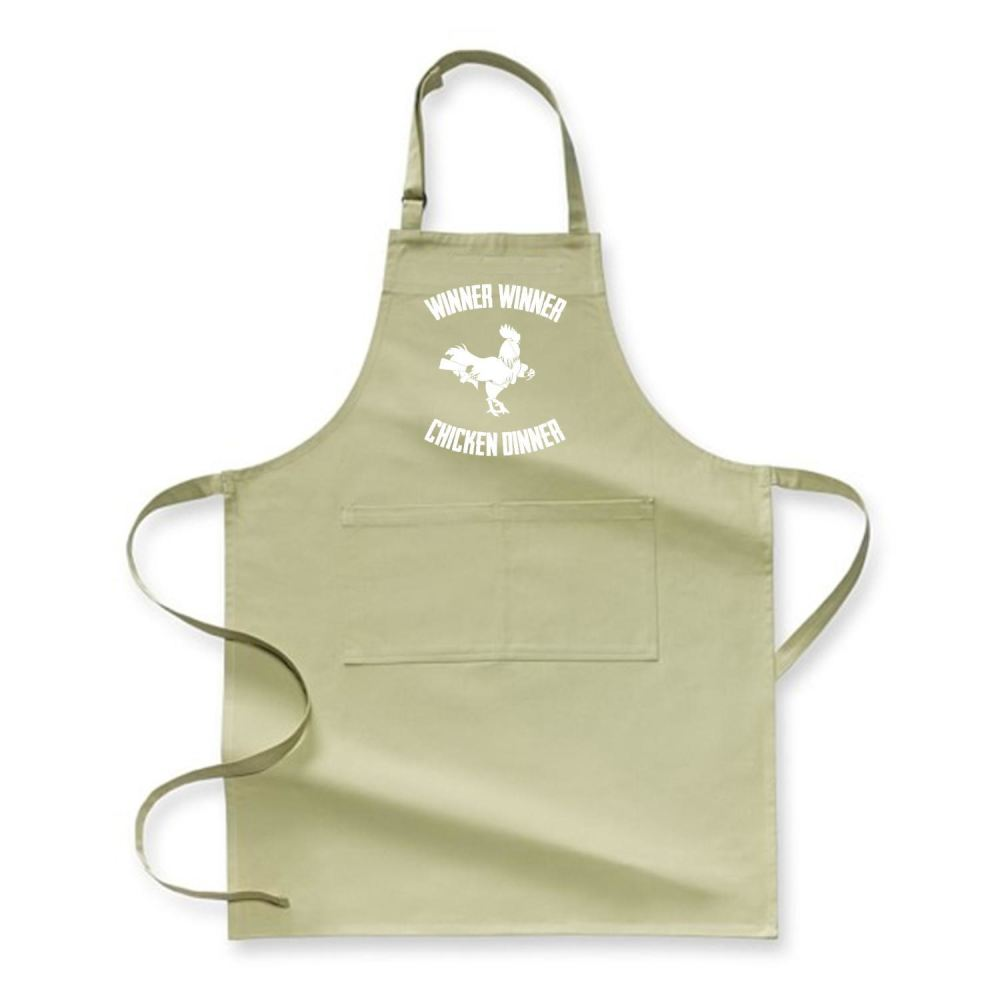 Are You A Winner Funny Apron - Green / Polyester - Productgenapi