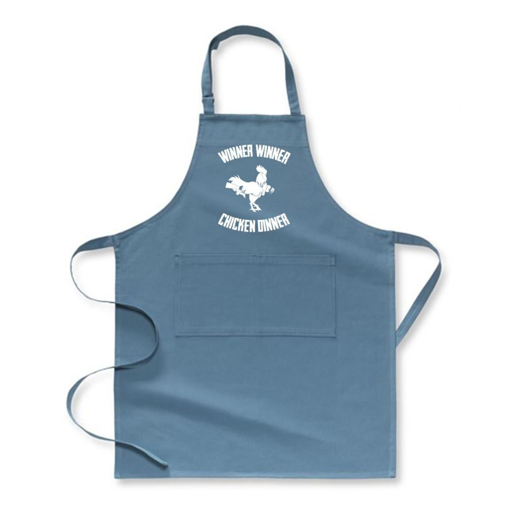 Are You A Winner Funny Apron - Turquoise / Polyester - Productgenapi