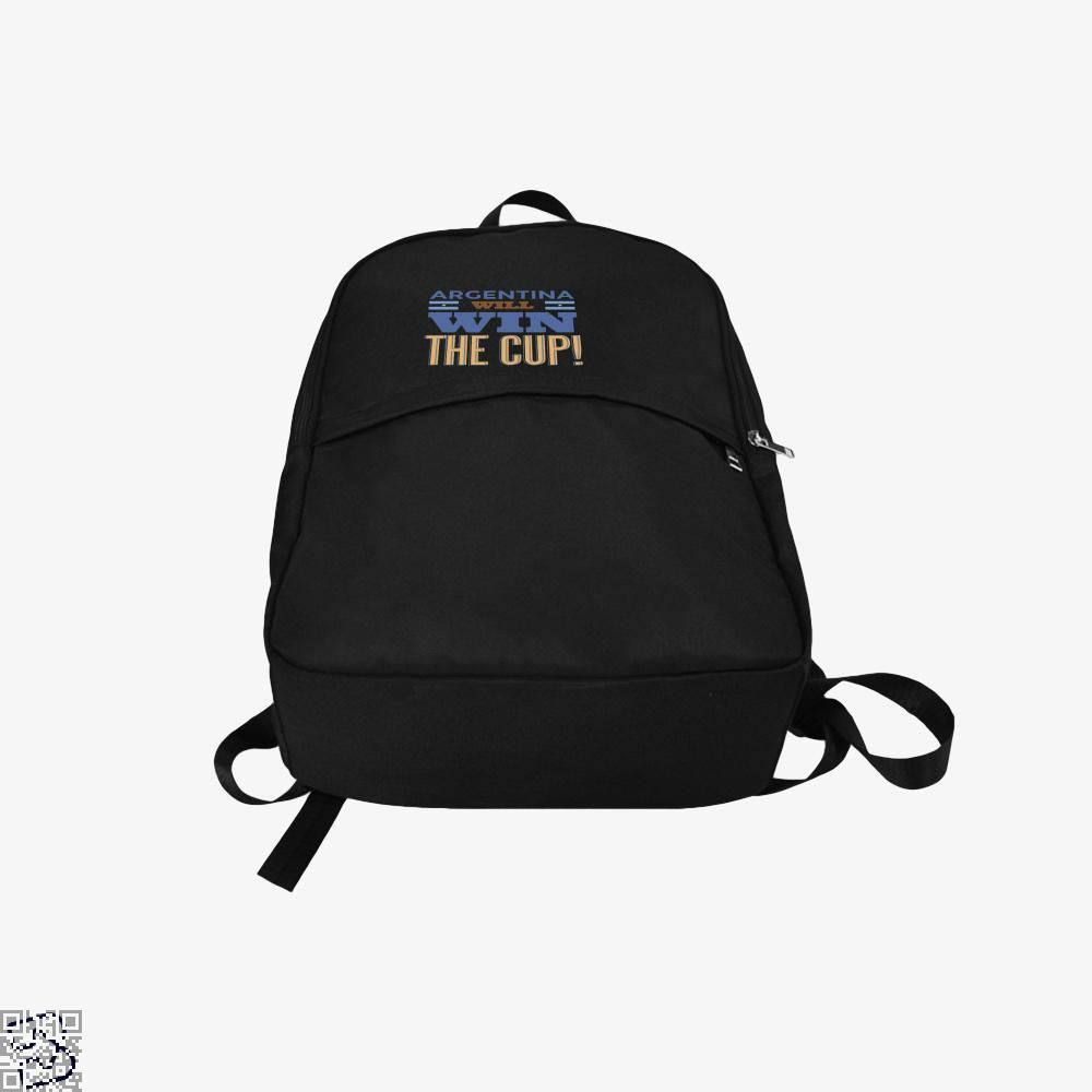 Argentina Will Win The Cup Fifa World Backpack - Productgenapi