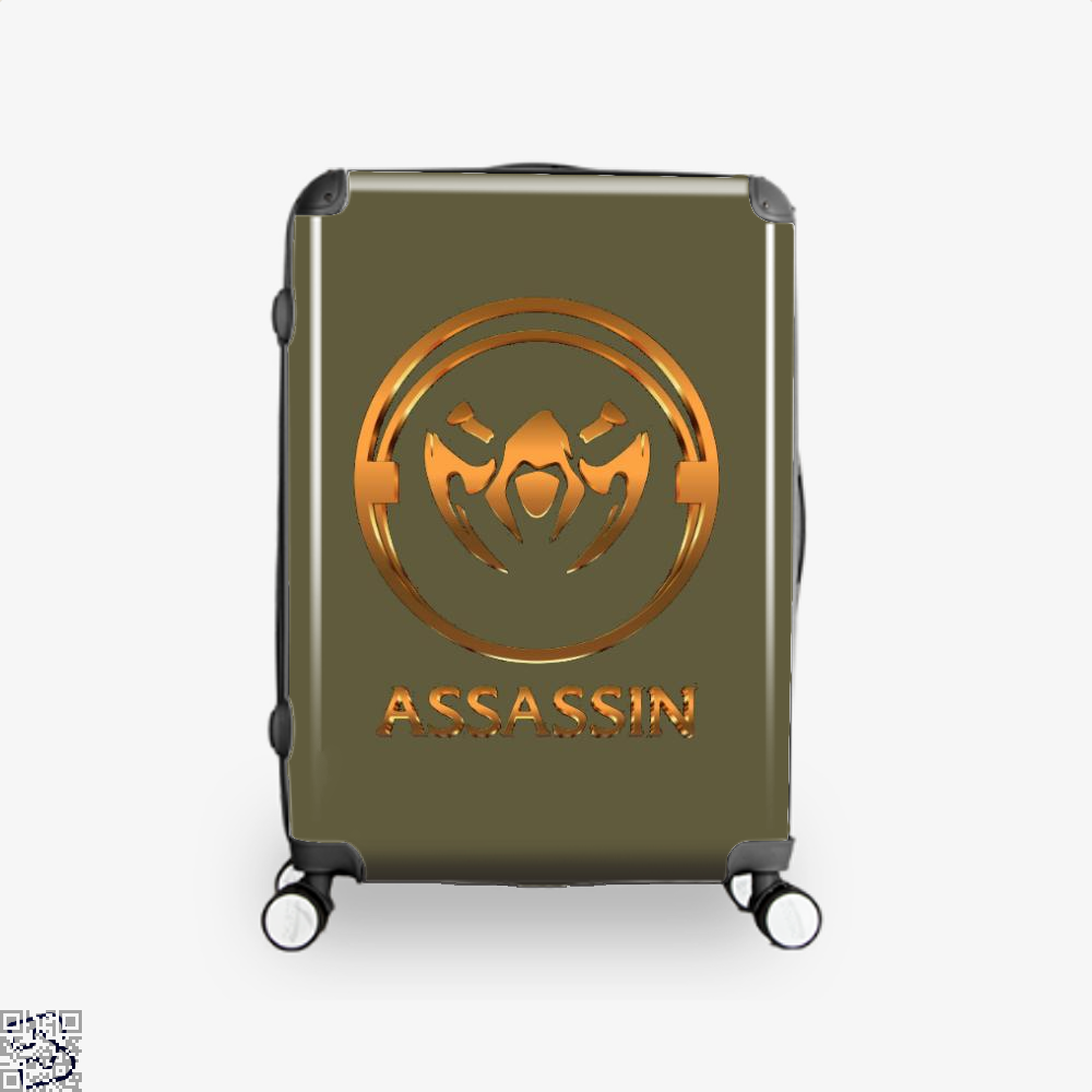 Assassin Gold Emblem Assassins Creed Suitcase - Brown / 16 - Productgenjpg