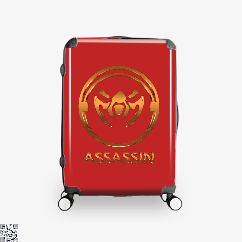 Assassin Gold Emblem Assassins Creed Suitcase - Red / 16 - Productgenjpg