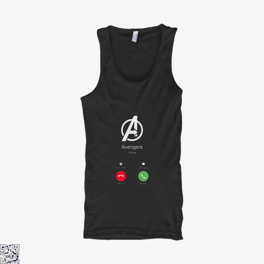 Avengers Calling Infinity War Tank Top - Men / Black / Small - Productgenapi