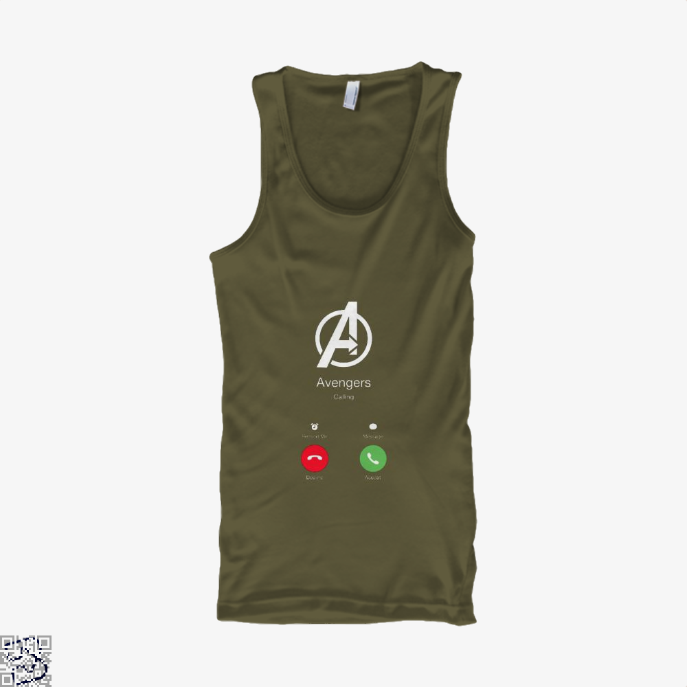 Avengers Calling Infinity War Tank Top - Men / Brown / Small - Productgenapi