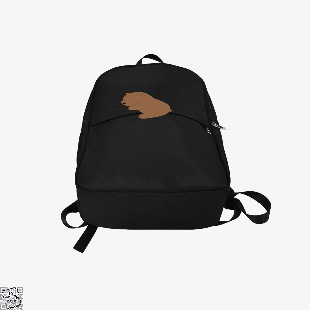 Baby Grizz We Bare Bears Backpack - Productgenapi