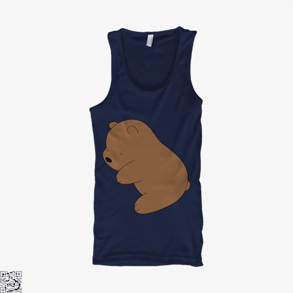 Baby Grizz We Bare Bears Tank Top - Men / Blue / Small - Productgenapi