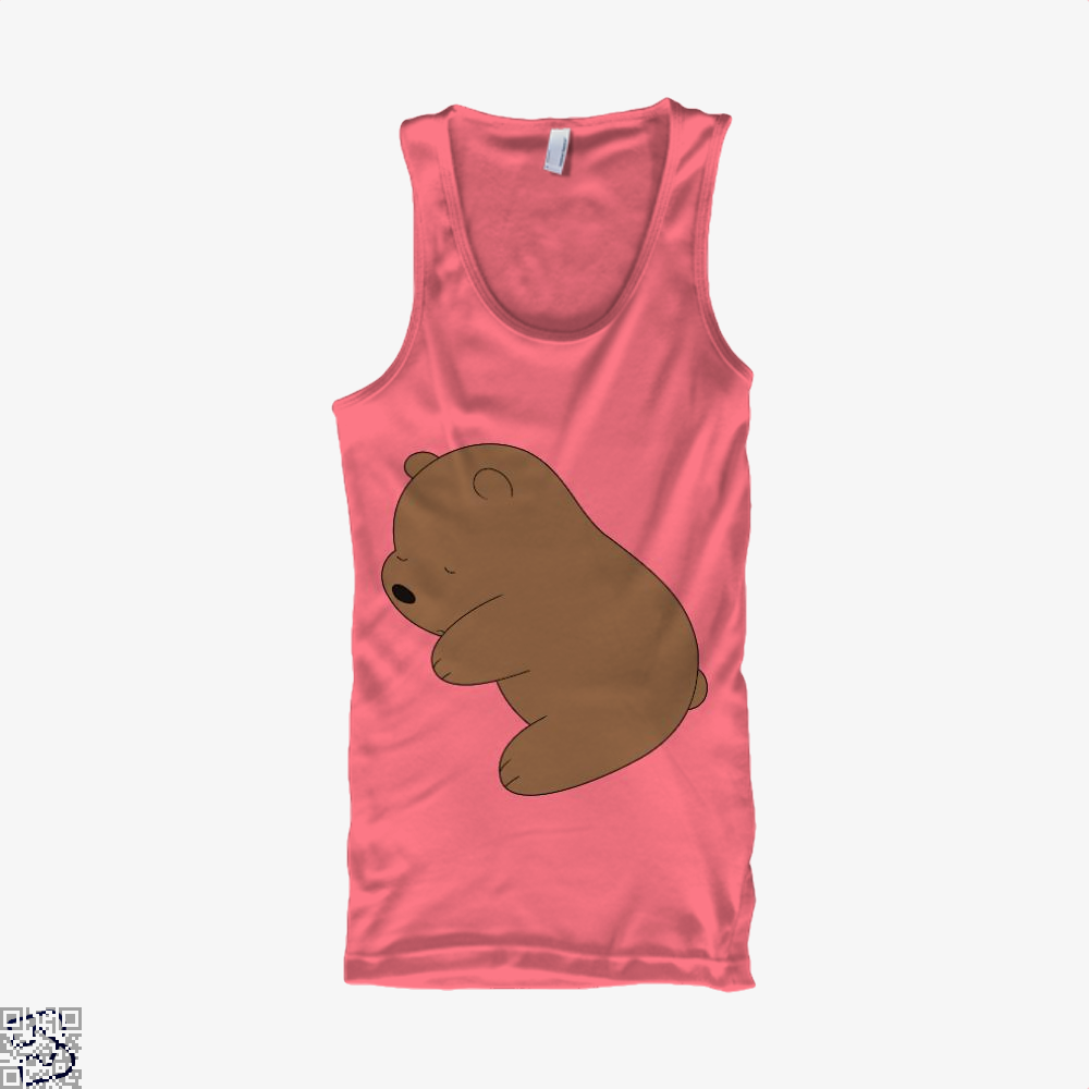 Baby Grizz We Bare Bears Tank Top - Women / Pink / Small - Productgenapi