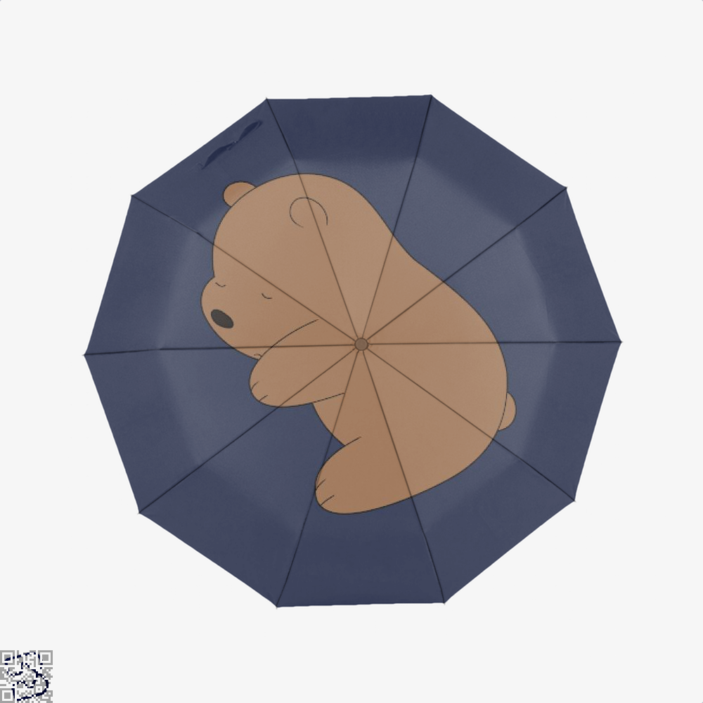 Baby Grizz We Bare Bears Umbrella - Blue - Productgenapi