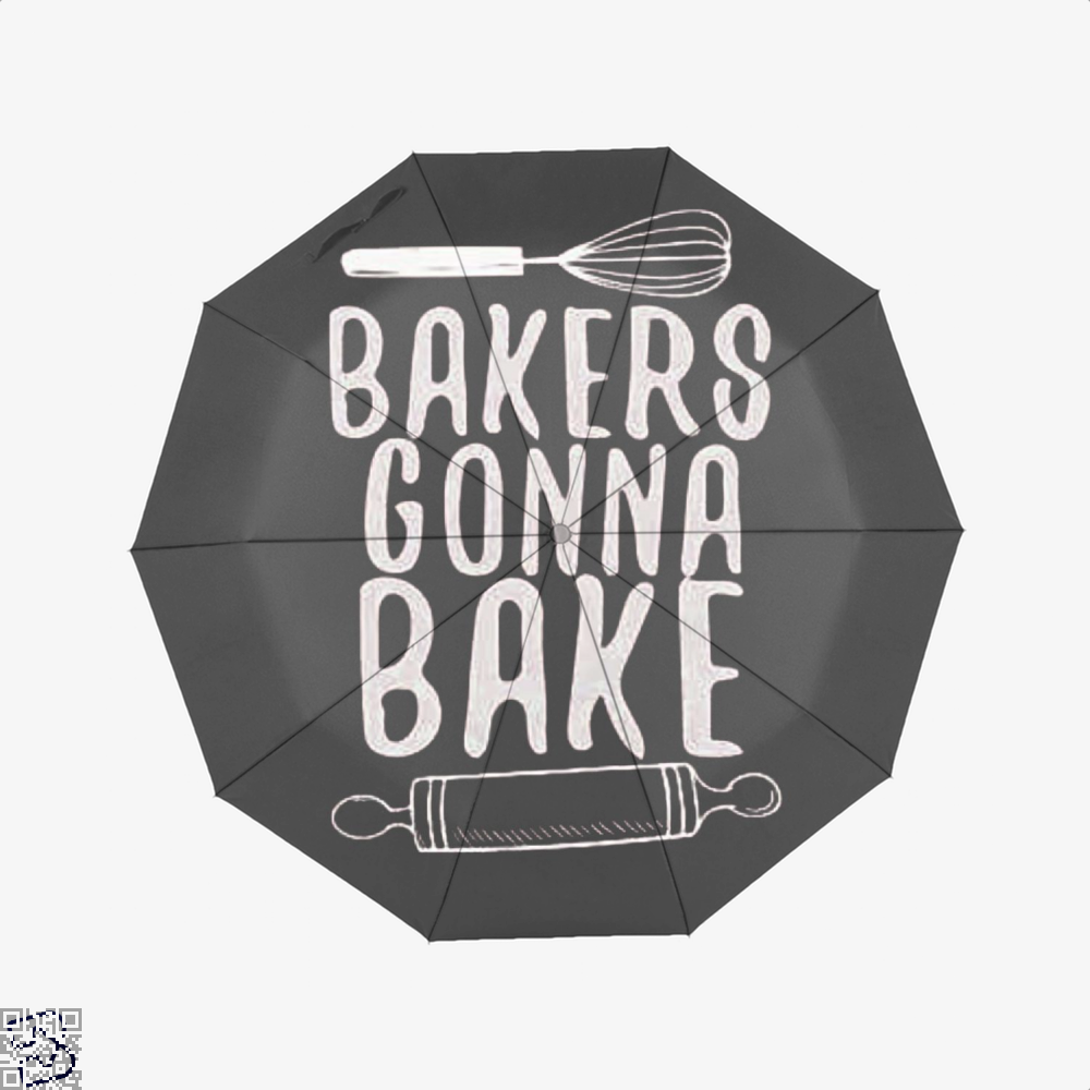 Bakers Gonna Bake Funny Umbrella - Productgenjpg