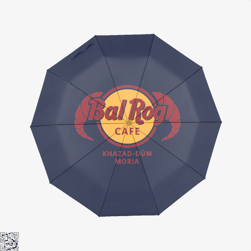 Balrog Cafe Lord Of The Rings Umbrella - Blue - Productgenjpg