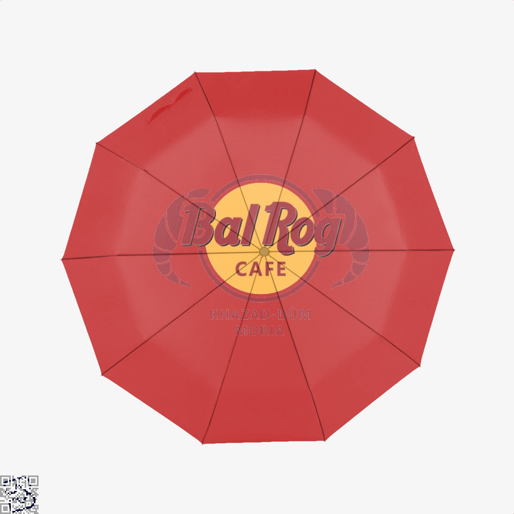 Balrog Cafe Lord Of The Rings Umbrella - Red - Productgenjpg
