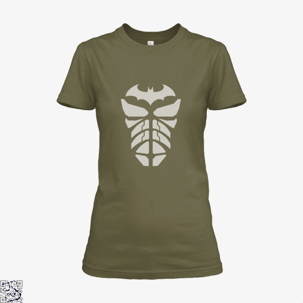 Bat Armour Batman Shirt - Women / Brown / X-Small - Productgenjpg