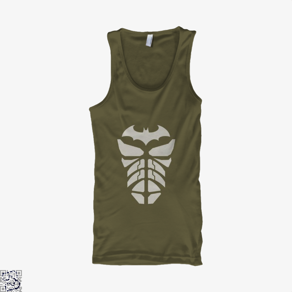 Bat Armour Batman Tank Top - Men / Brown / X-Small - Productgenjpg