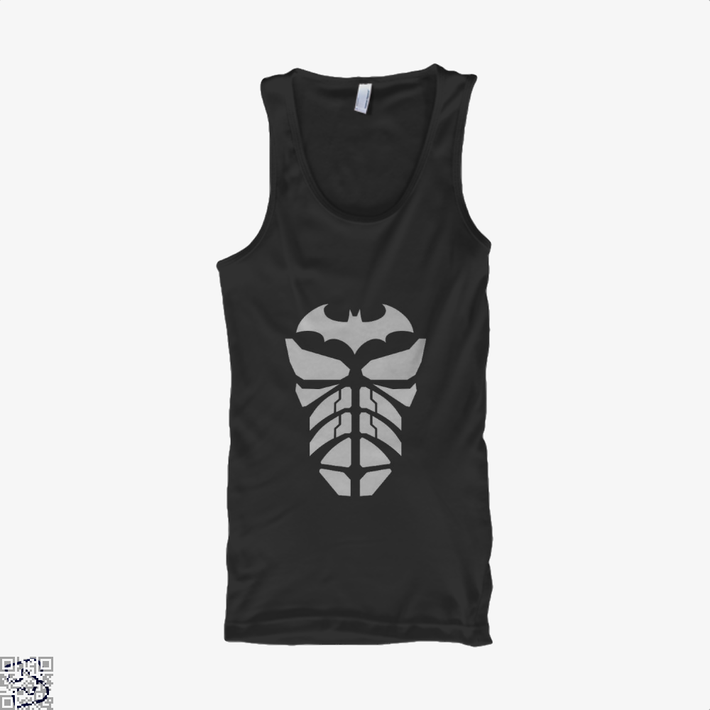 Bat Armour Batman Tank Top - Women / Black / X-Small - Productgenjpg