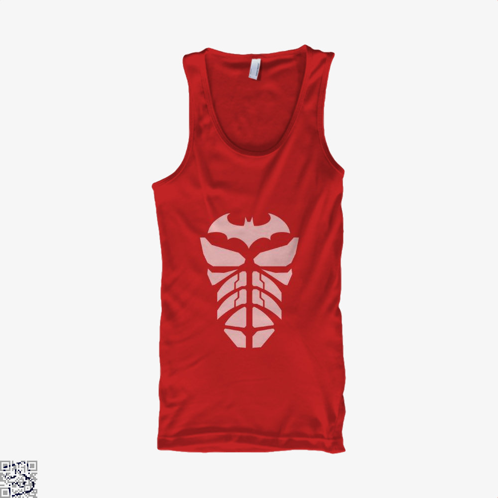 Bat Armour Batman Tank Top - Women / Red / X-Small - Productgenjpg
