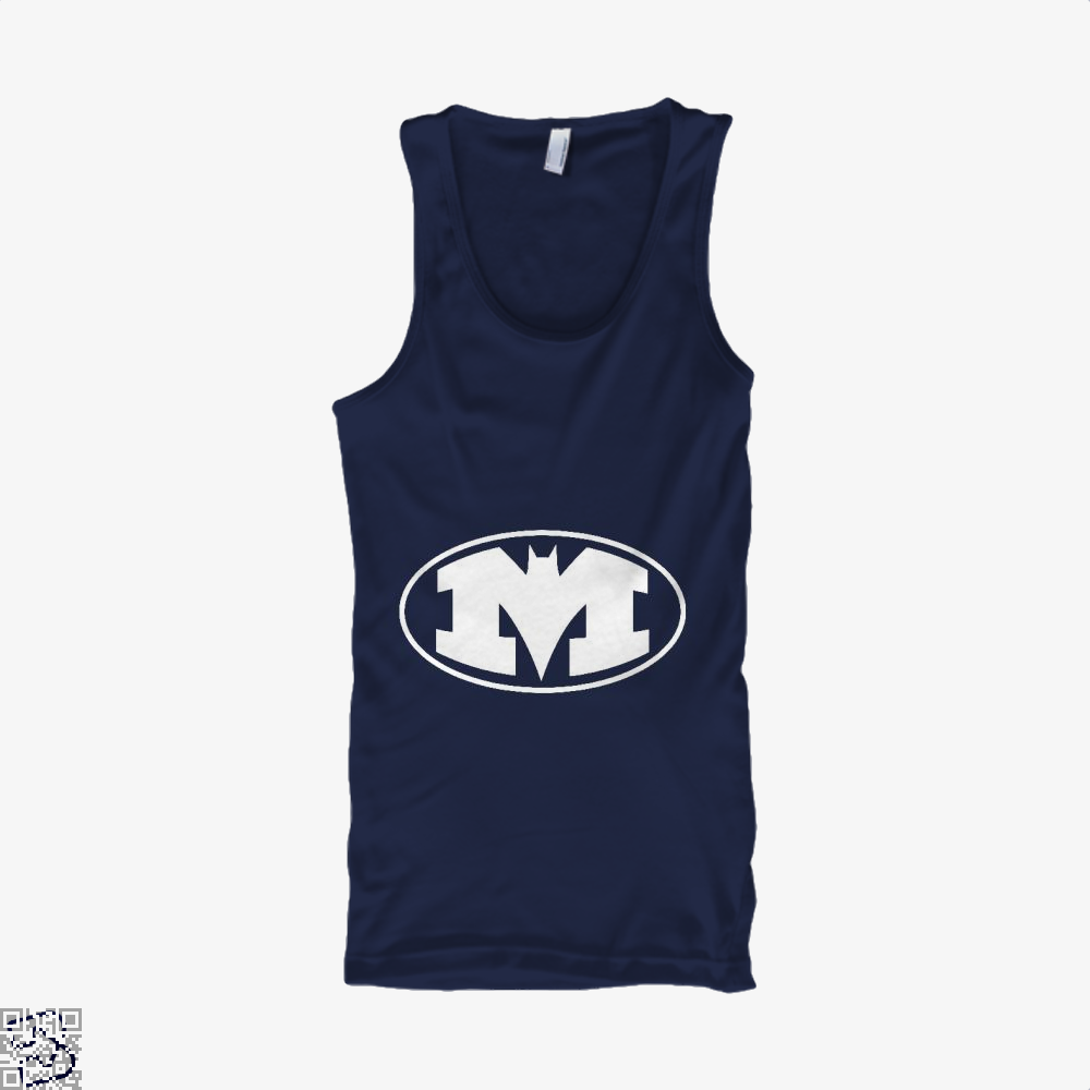 Bat-Michigan Dark Batman Tank Top - Men / Blue / X-Small - Productgenjpg