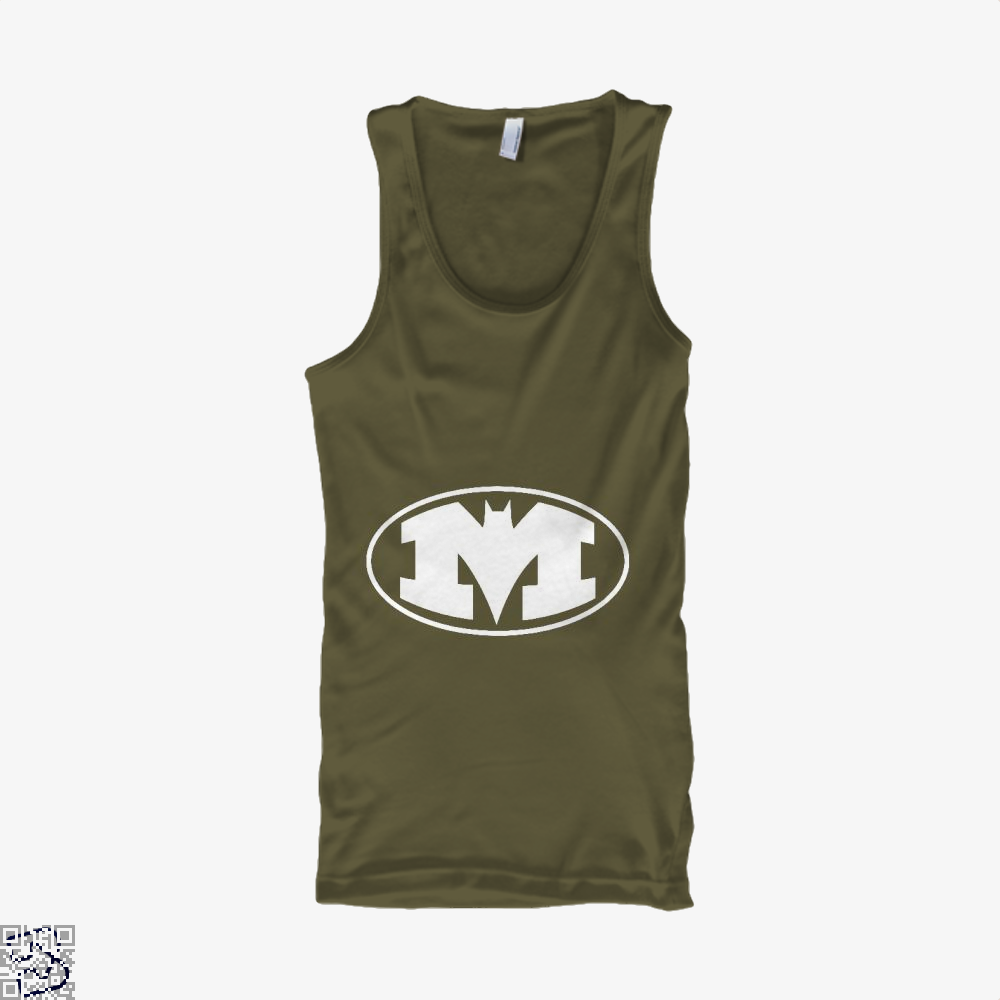 Bat-Michigan Dark Batman Tank Top - Men / Brown / X-Small - Productgenjpg