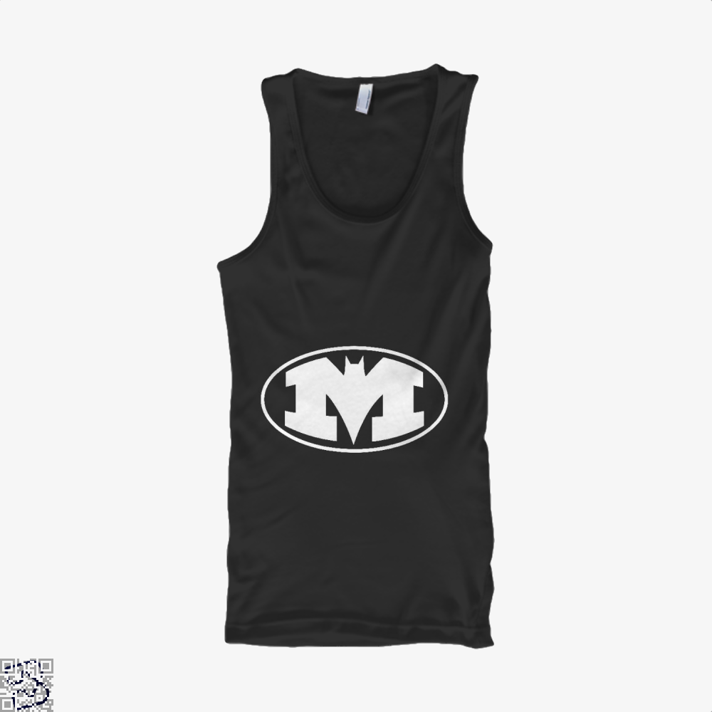Bat-Michigan Dark Batman Tank Top - Women / Black / X-Small - Productgenjpg