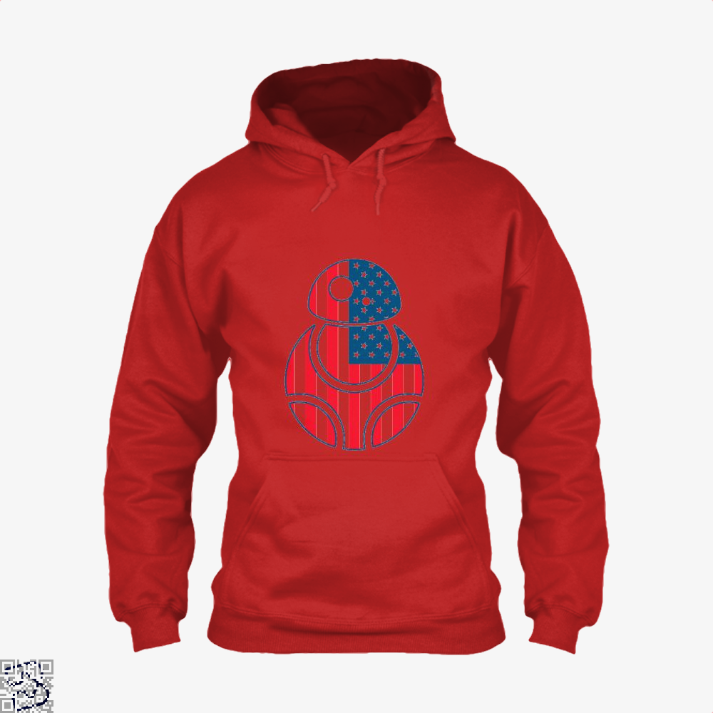 Bb Merica Independence Day Hoodie - Red / X-Small - Productgenjpg