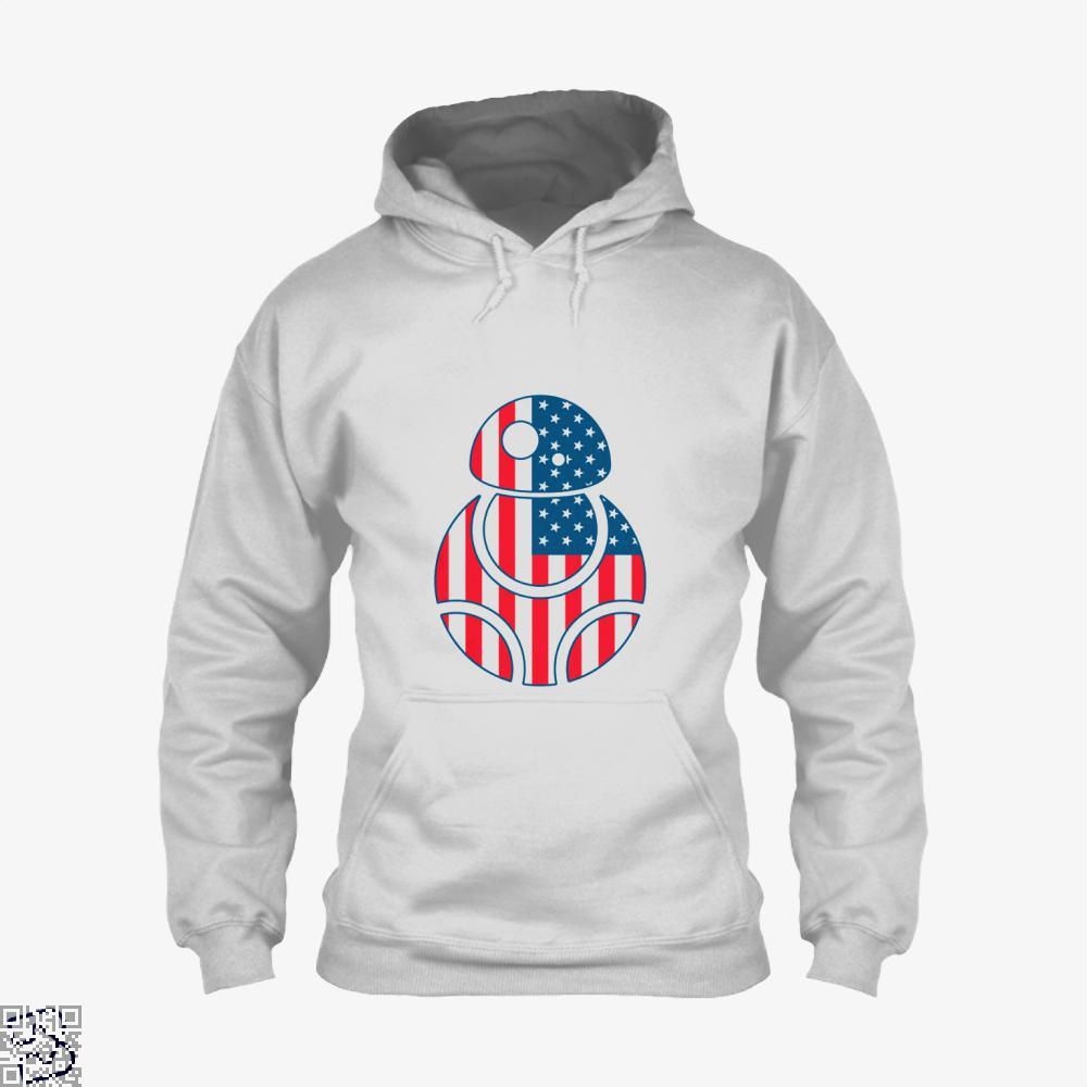 Bb Merica Independence Day Hoodie - White / X-Small - Productgenjpg