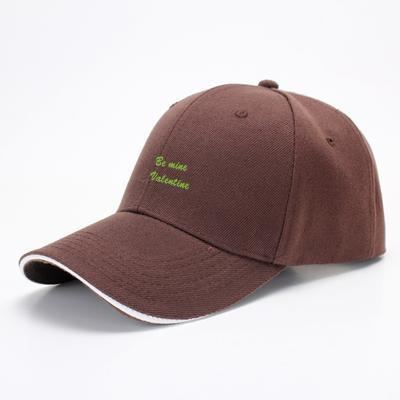 Be Mine Valentine Valentines Day Baseball Cap - Brown - Productgenjpg