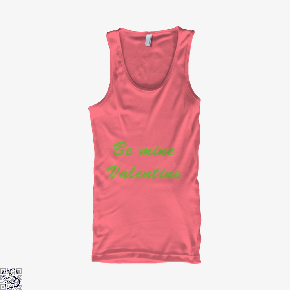 Be Mine Valentine Valentines Day Tank Top - Women / Pink / Xx-Small - Productgenjpg