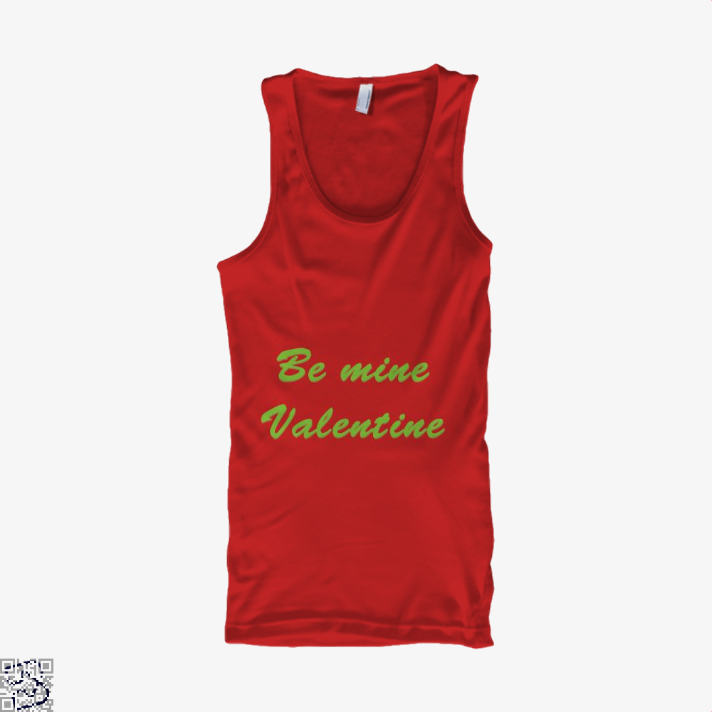 Be Mine Valentine Valentines Day Tank Top - Women / Red / X-Small - Productgenjpg