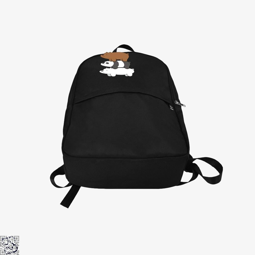 Bear Stack We Bare Bears Backpack - Productgenapi