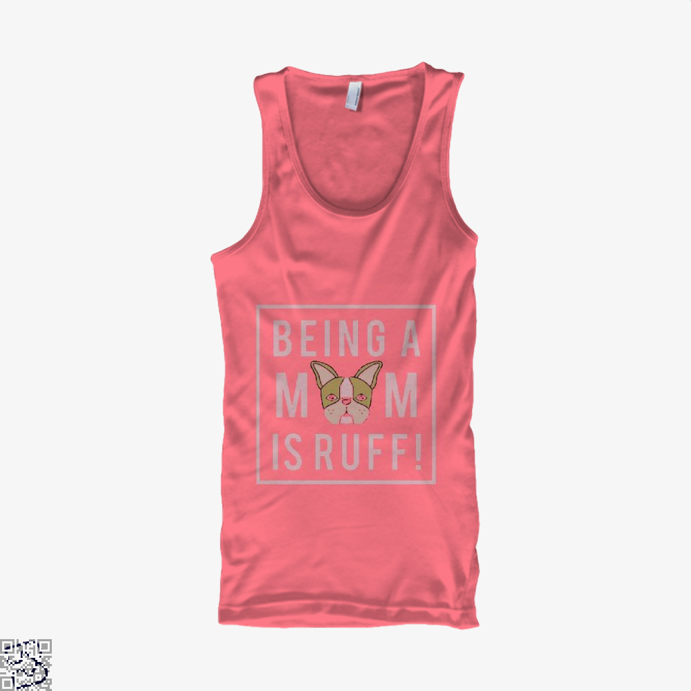 Being A Mom Is Ruff Mothers Day Tank Top - Women / Pink / Xx-Small - Productgenjpg