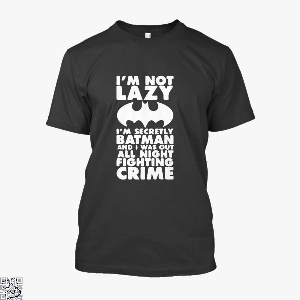 Being Batman Shirt - Men / Black / X-Small - Productgenjpg