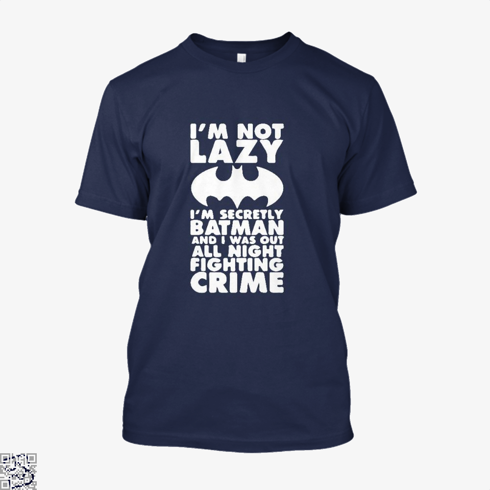 Being Batman Shirt - Men / Blue / X-Small - Productgenjpg